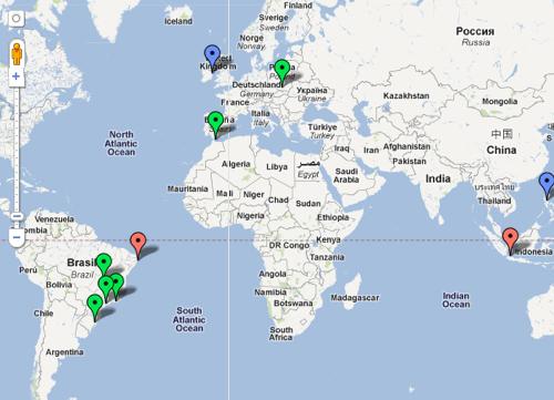 Mapa Interactivo Videojuegos en Español. Instituto Cervantes